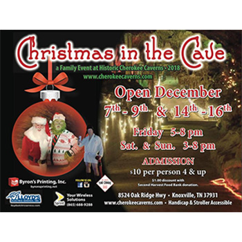 Cherokee Caverns - Christmas in the Cave