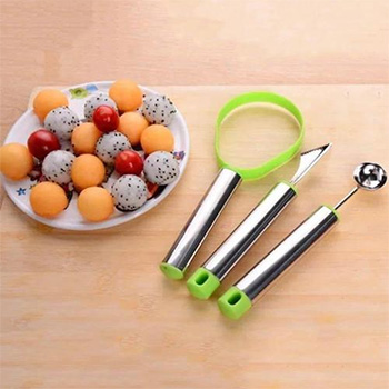 3-Piece Set: Fruit Carving Collection - $11.99 With FREE Shipping