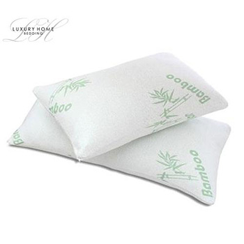 Luxury Home™ Bamboo Memory Foam Hypoallergenic Pillow - $34.99 With FREE Shipping