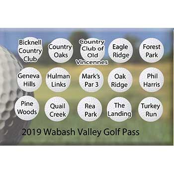 2019 Wabash Valley Golf Pass