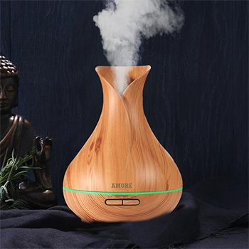 Ultrasonic Air Humidifier and Diffuser With FREE Shipping!