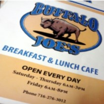 $20 to Buffalo Joe's Cafe for only $10