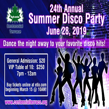 Centennial Terrace Summer Disco Party - $20 for $10