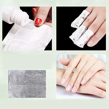Foil Wrap Nail Polish Remover With FREE Shipping!