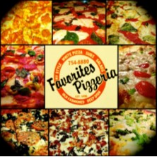 Favorites Pizza Enjoy $20 Voucher for $10 - 2 Locations Amherst or Lewiston