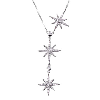 Three Star Lariat Necklaces for Women With FREE Shipping!