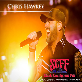 Pair of Tickets to Chris Hawkey Band on August 15, 2019