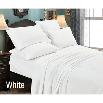 6-Piece: Luxury Home Premium Quality Super Soft Full Bed Sheet Set with FREE Shipping!