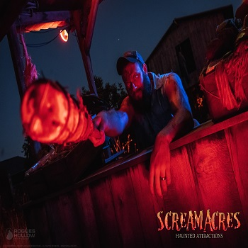Leaders Farms - Admit 2 to : Scream Acres Haunted Cornfield & Pandemonium Project