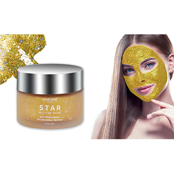 24K Gold Glitter Peel-Off Mask - $11.99 with FREE Shipping!