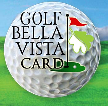 Golf Bella Vista Card<br>CARD PROMOTION HAS ENDED PREVIOUSLY PURCHASED CARDS ARE GOOD THROUGH 12/31/18
