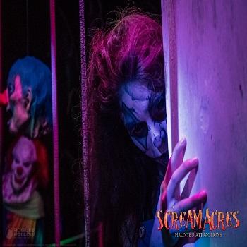 Leaders Farms - Admit 2 to : Scream Acres Haunted Cornfield & Pandemonium Project