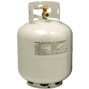 Great Lakes Rental 20# Propane Tank Re-fill for $10