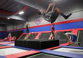 The Hub Fly Zone Trampoline Park-(2) 2 hour jump passes